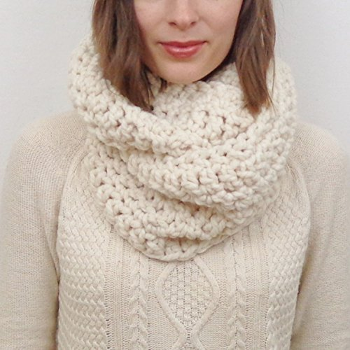 Knit Infinity Scarf (Choose your Color)
