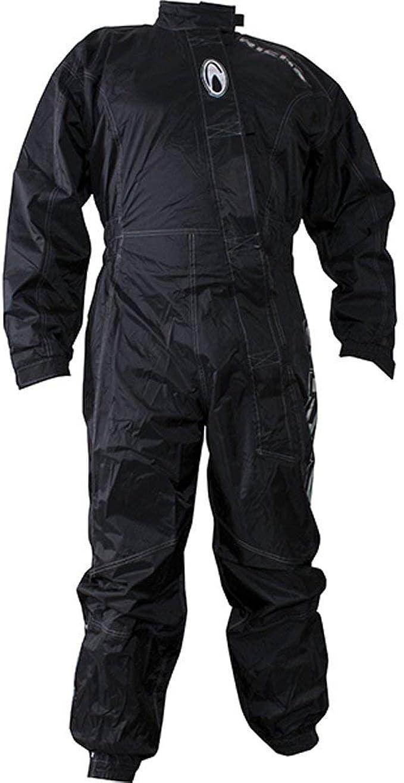 Richa Typhoon Rain Wasserfest Motorrad Einteiler Anzug Overall Schwarz Gelb Richa Motorcycle Clothing Auto