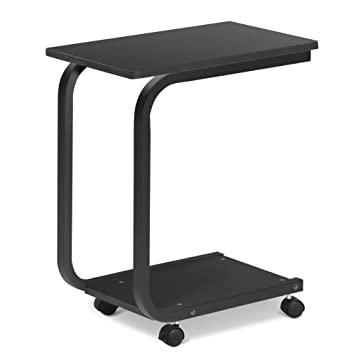 Amazon rolling laptop table multi uses moving desk bedside rolling laptop table multi uses moving desk bedside table over bed homeoffice watchthetrailerfo