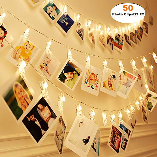 Fairy String Light Up Photo Clips