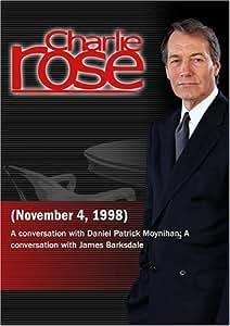 Charlie Rose with Daniel Patrick Moynihan; James Barksdale (November 4, 1998)