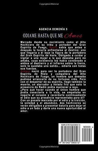 Amazon.com: Ódiame, hasta que me ames: Edición Especial (Spanish Edition) (9781542595513): Nisha Scail: Books