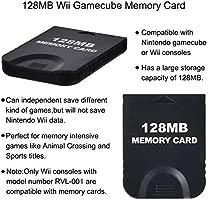 Gamecube - Tarjeta de Memoria de 128 MB (2048 Bloques ...