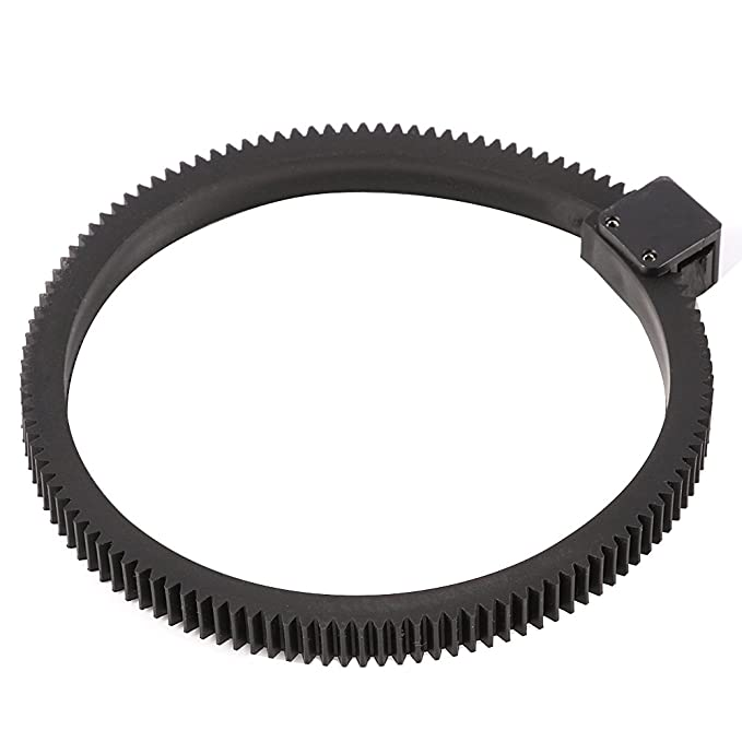 Ruili Ajustable Follow Focus Gear Ring Belt para DSLR Objetivos ...