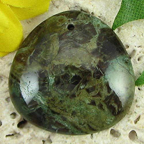 30mm Snake Skin Jasper Triangle Pendant Bead ()