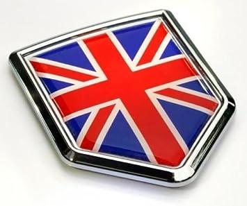 FLAG CAR GRILLE EMBLEM BADGES GREAT BRITAIN