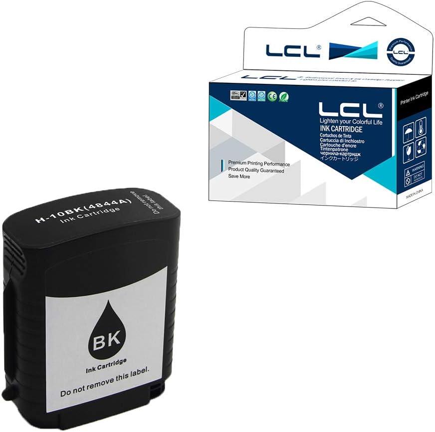 LCL Cartucho de Tinta Compatible 10 C4844A (1 Negro) Reemplazo ...