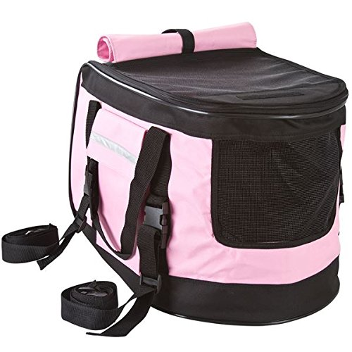 Pink Pet Stroller, Carrier and Car Seat All-in-One by Discount Ramps (Image #3)