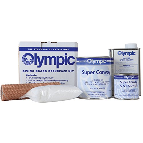 Olympic Diving Board - Kelly Technical Olympic Diving Board Resurfacing Kit - White Finish
