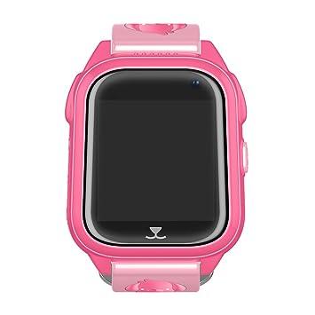 Su-luoyu Reloj para Niños Impermeable IP67 Niños Inteligente Relojes GPS SOS para Niños Regalos