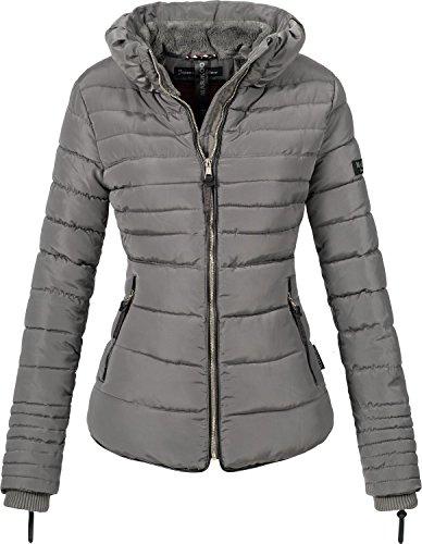 Grey Jacket Winter Xs 10 Colors Marikoo Amber xxl Women's O7wRq1