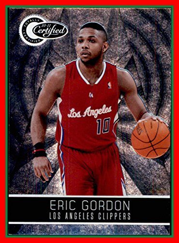 Clippers Eric Gordon (2010-11 Totally Certified #31 Eric Gordon SERIAL #840/1849 LOS ANGELES CLIPPERS INDIANA HOOSIERS)