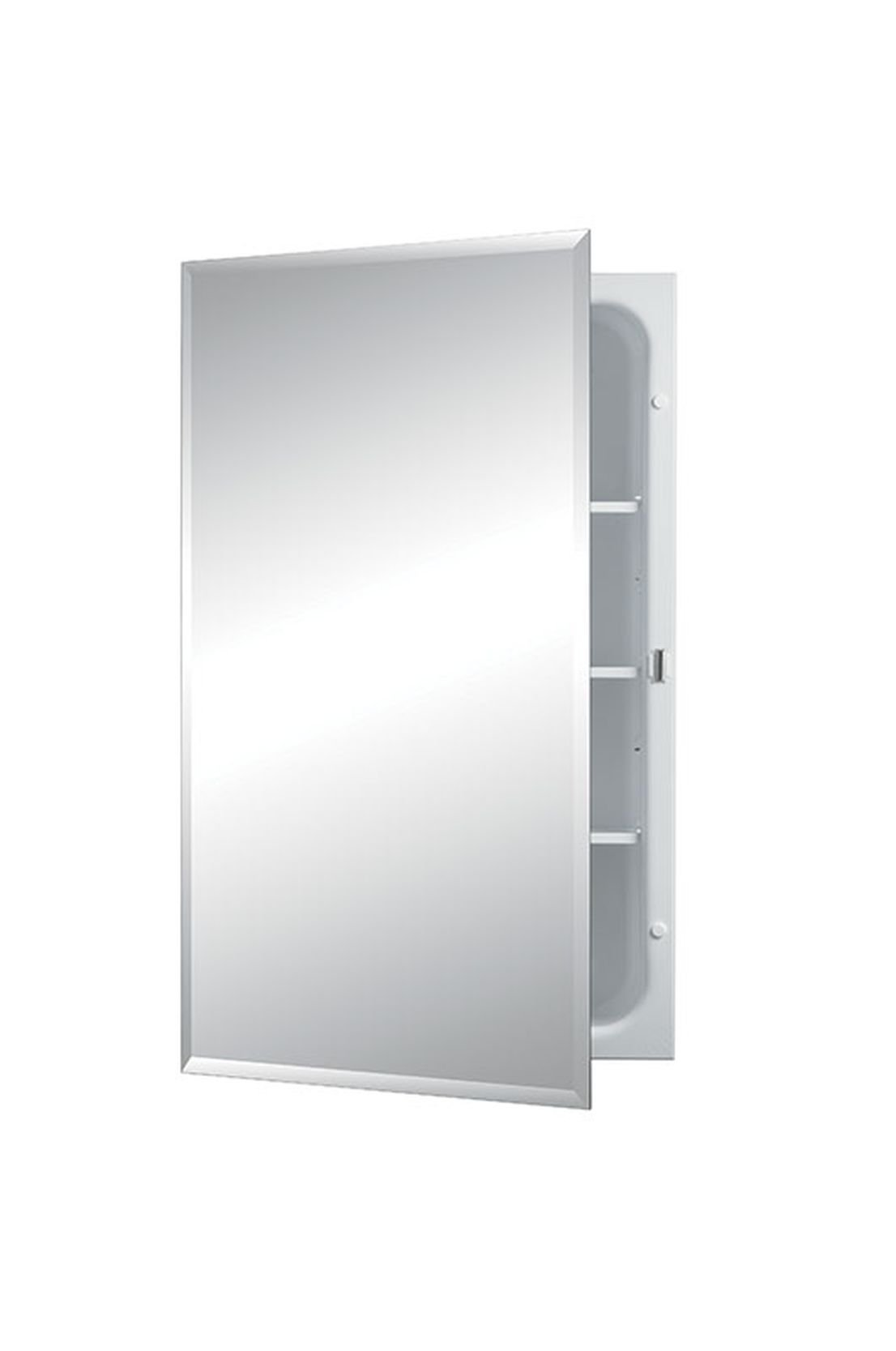 Jensen 1459X Bevel Mirror Medicine Cabinet, 16'' x 26''