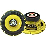 "Car Two Way Speaker System - Pro 6.5 Inch 240 Watt 4 Ohm Mid Tweeter Component Audio Sound Speakers For Car Stereo w/ 30 Oz Magnet Structure, 2.25"" Mount Depth Fits Standard OEM - Pyle PLG6.2 (Pair)"