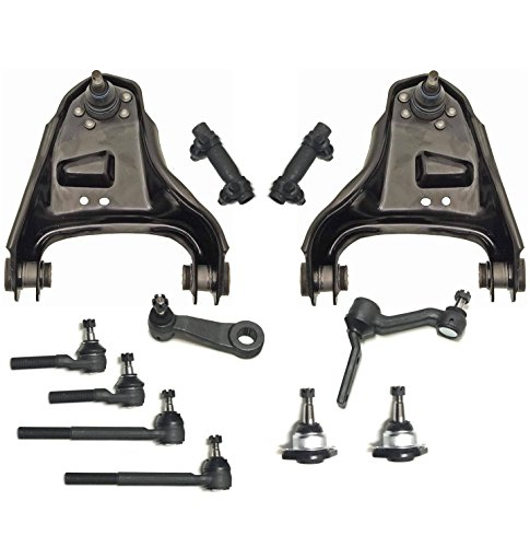 PartsW 12 Pcs Suspension Kit for Chevrolet GMC Isuzu and Oldsmobile, Upper Control Amrs w/ball joint assembly & Lower bal joints/HEAVY DUTY