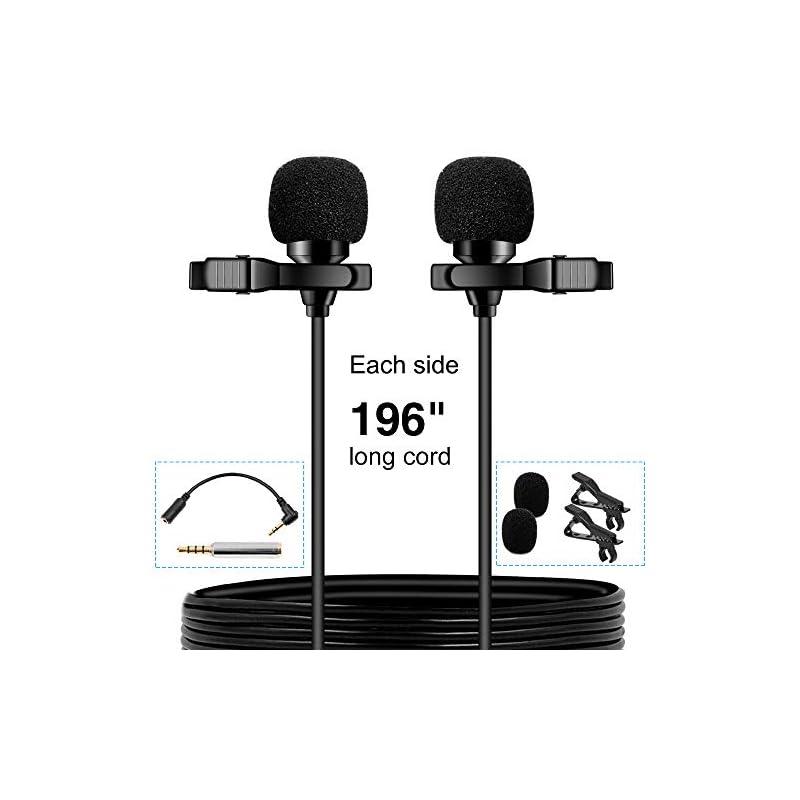 PoP voice Premium 16 Feet Dual-head Lava