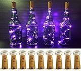 LXS Pack of 9 Cork Shape Wine