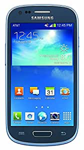 Samsung Galaxy S3 Mini G730A 8GB AT&T Unlocked GSM 4G LTE Smartphone w/ 5MP Camera - Blue (Certified Refurbished)