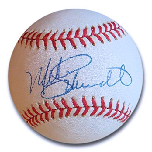 Mike Schmidt Signed Autographed NL Baseball Philadelphia Phillies JSA M48087 (Philadelphia Hand Signed Phillies)