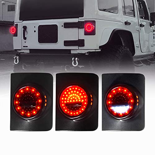 7 Round Led Tail Light in US - 3