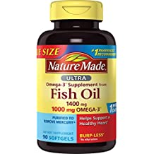 Nature Made Ultra Omega-3 Softgels, 90 count