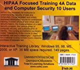 HIPAA Focused Training 4A Ten Users, Farb, Daniel, 1594911746