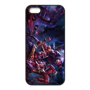 League of Legends(LOL) SKT T1 Vayne iPhone 5 5s Cell Phone Case Black DIY Gift pxf005-3599343