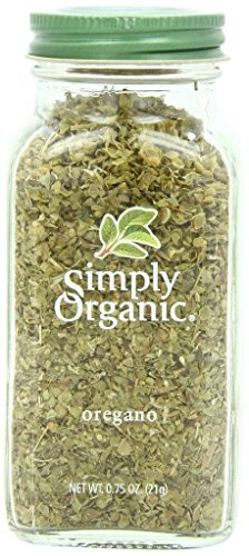 Simply Organic Oregano Leaf Cut & Sifted Certified Organic, .75-Ounce Container by Simply Organic