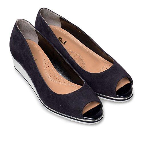 Midnight Dal Van Prisd Culver WoMen Patent Heels Flatform Blue Suede WqrrwHYd