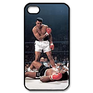 Custom Your Own Personalised Muhammed Ali KO Iphone 4/4S Best Durable Hard Cover Case