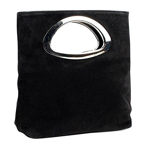 Evening Designer Women's Bag Black Bag Large Suede Handbags Best Leather Fantastic Clutch Tote Quality Wocharm nq4zzH