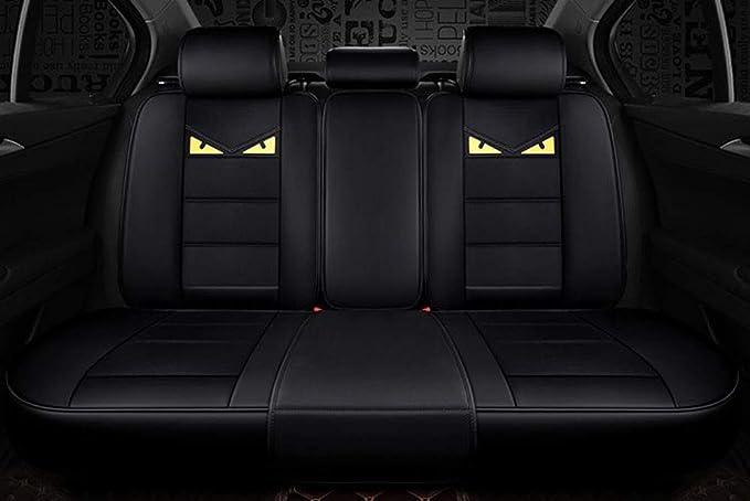 Cartoon Edition,Black kangsheng Autositzbez/üge PU Leder Universal Cartoon Vier Jahreszeiten f/ür Toyota Corolla Camry Rav4 Auris Prius Yalis Avensis SUV Auto Innenzubeh/ör