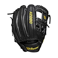 The 2019 A2000 DP15 is one of the latest offerings in Wilson's patented Pedroia fit lineup. Designed with black Pro stock leather and an h web, this A2000 DP15 has a smaller hand opening and narrower finger stalls to fit smaller hands - with ...