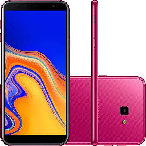 "Smartphone Samsung Galaxy J4+ 32GB Dual Chip Android 6"" 4G Camera 13MP Rosa - Desbloqueado Claro"