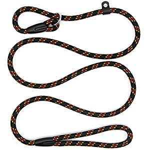 5 FT Durable Pet Dog Training Leash, Adjustable Nylon Lead Leash, Soft Slip Lead Traction Rope for Small and Medium Dogs… Click on image for further info.
