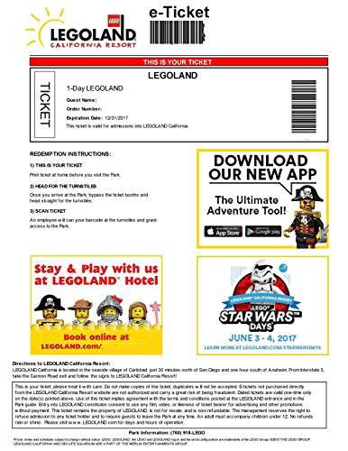 Legoland tickets florida