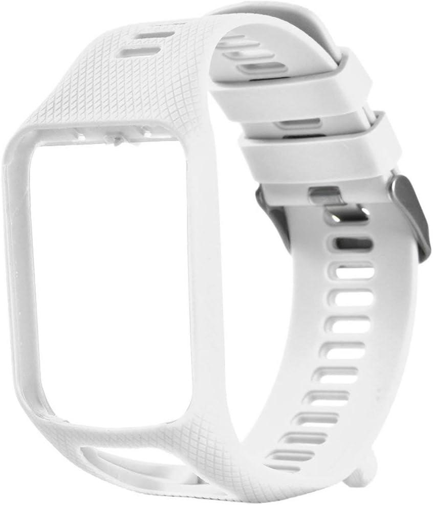Banda para Tomtom 1 Multi-Sport GPS HRM CSS Am Cardio Runner Reloj Silicona Correa Suave Pulsera Pulsera