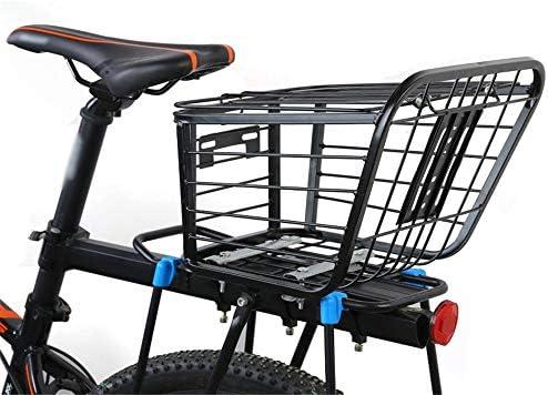 Cesta de bicicleta Metal universal frente de la bicicleta cesta ...
