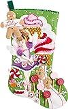 Bucilla 86714 Sugarland Fairy Stocking Kit