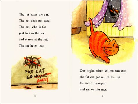 9780060266738 - Nurit Karlin: The Fat Cat Sat on the Mat (I Can Read Books) - Buch