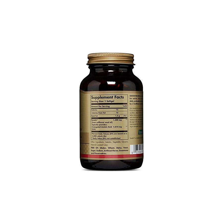 Solgar, Tonalin¢ç CLA 1300 mg, 60 Softgels