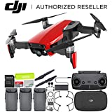 DJI Mavic Air Drone Quadcopter (Flame Red) Ultimate Bundle