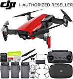 DJI Mavic Air Drone Quadcopter (Flame Red) Ultimate Bundle Review