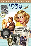 1936 Birthday Gift Idea- 1936 DVD Film and 1936 Greeting Card