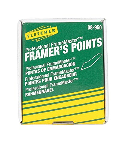 Points Push (Fletcher-Terry Co Framers Stacked Points 08-950, Silver, 5/8 in)