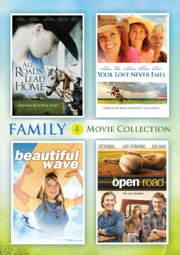 DVD : All Roads Lead Home / Your Love Never Fails / The Open Road / Beautiful Wave (Boxed Set, 4 Disc)