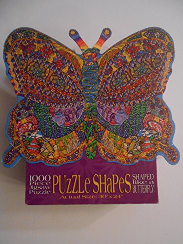 1000 pc. Shaped Jigsaw Puzzle - Butterfly