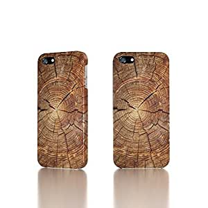 Apple iPhone 4 / 4S Case - The Best 3D Full Wrap iPhone Case - Tree Rings