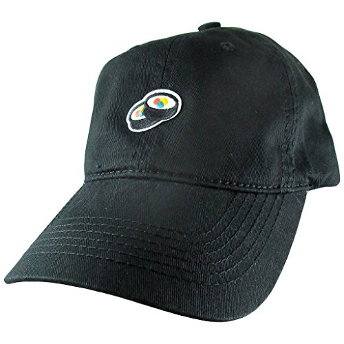 (AffinityAddOns Sushi Rolls Dad Hat, Black Baseball Cap, Embroidered Patch)