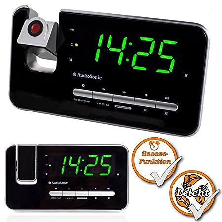 Reloj De Proyección | Reloj Radio - Radio despertador ...